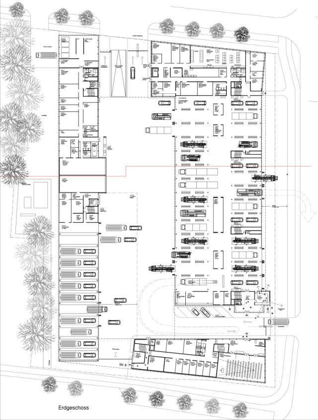 Feuerwache 5 Und Katastrophenschutzzentrum Der Lh M 252 Nchen