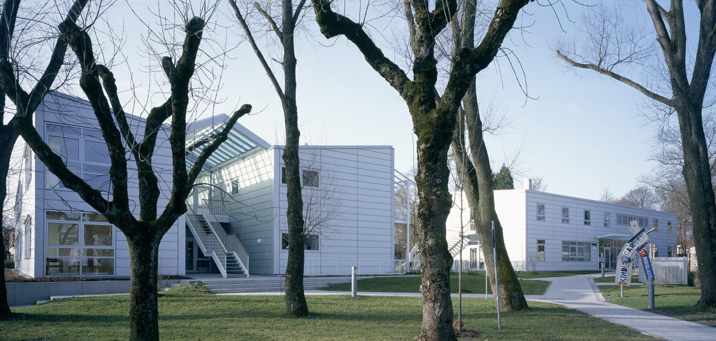 Architekten Rosenheim kindergarten st nikolaus ackermann architekten bda